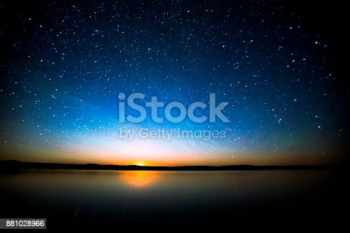 istock Night Sky South Saskatchewan Canada. 881028966