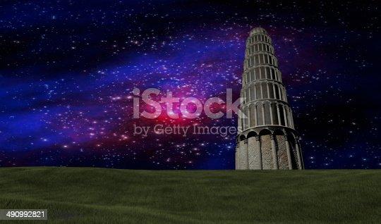 478539432istockphoto Night sky stars scene 490992821