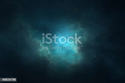 istock Night sky - Universe filled with stars, nebula and galaxy 459204785