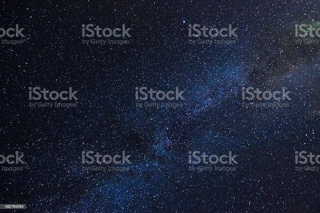 Night sky with Milky way stock photo