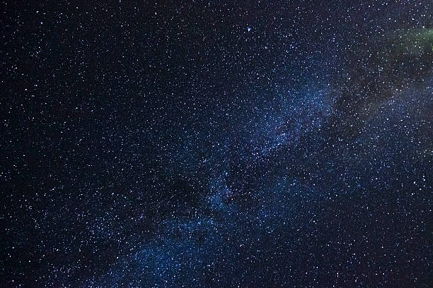 night sky with milky way - nightsky bildbanksfoton och bilder