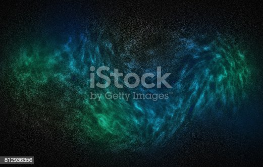istock Night sky with stars and nebula 812936356