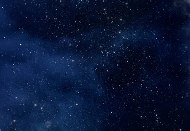 céu noturno com estrelas e universo macio da via láctea como fundo ou textura - estrelinha - fotografias e filmes do acervo