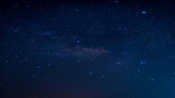 Night sky with stars. – Foto