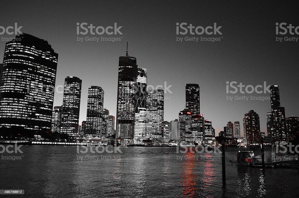 Night Skyline stock photo