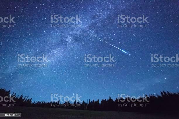 Photo of Night Sky,meteor shower