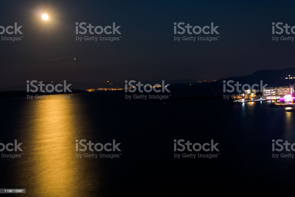 night star sea moon