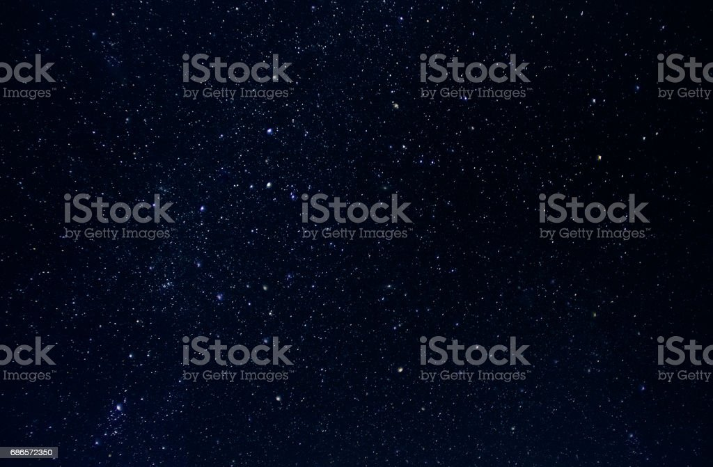 Night stars sky - background foto stock royalty-free