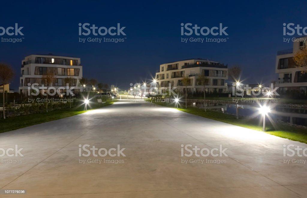 architecture, building, night, illumination
