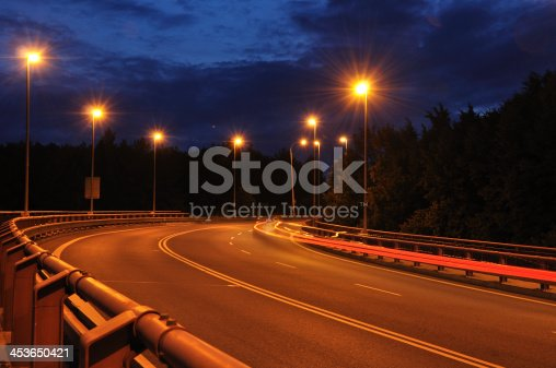820883024 istock photo Night time shot of speed 453650421