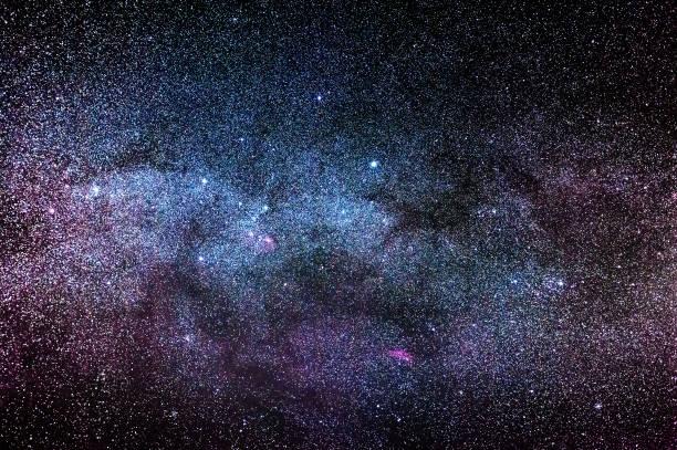 nacht zeit himmel - sternhaufen stock-fotos und bilder