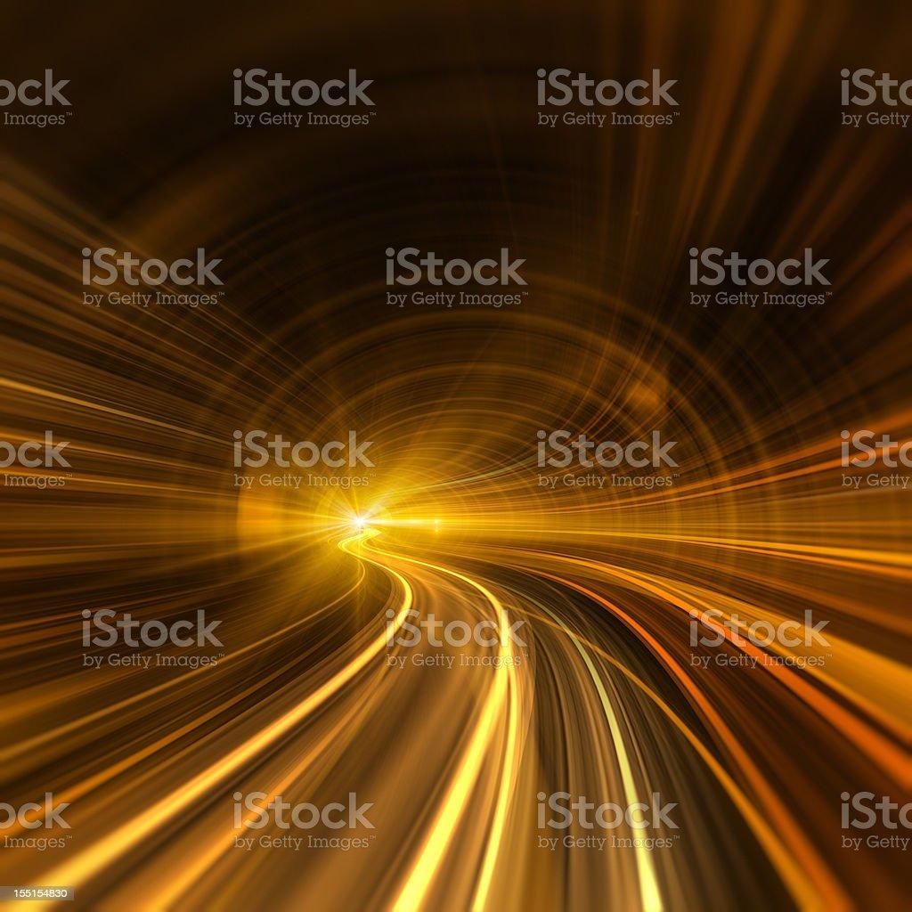 Night Transportation royalty-free stock photo