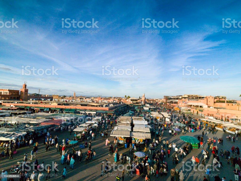 Marrakech In February