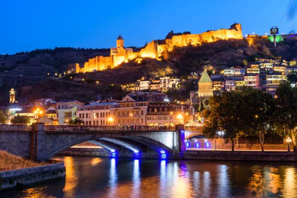 Nachtsicht von Tiflis – Foto