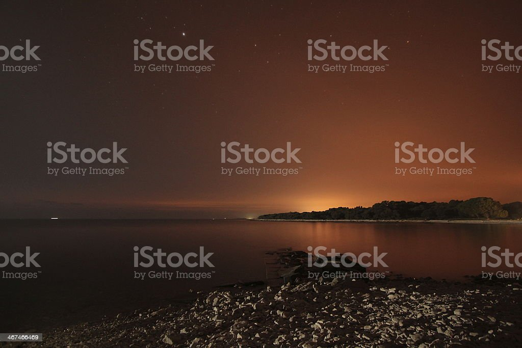 night view royalty-free stock photo