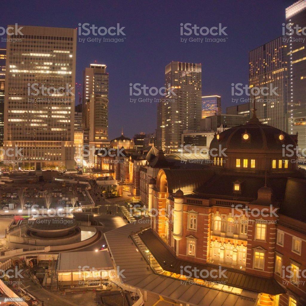 night view stock photo