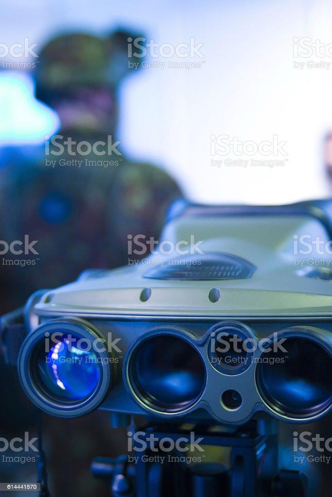 Night vision gear stock photo