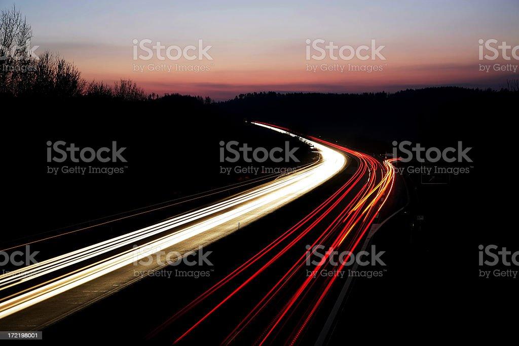 Night_highway 03 – Foto