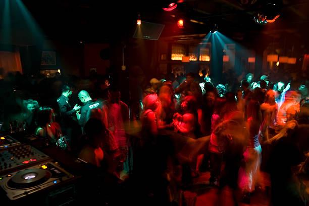 Discothèque Dance foule - Photo