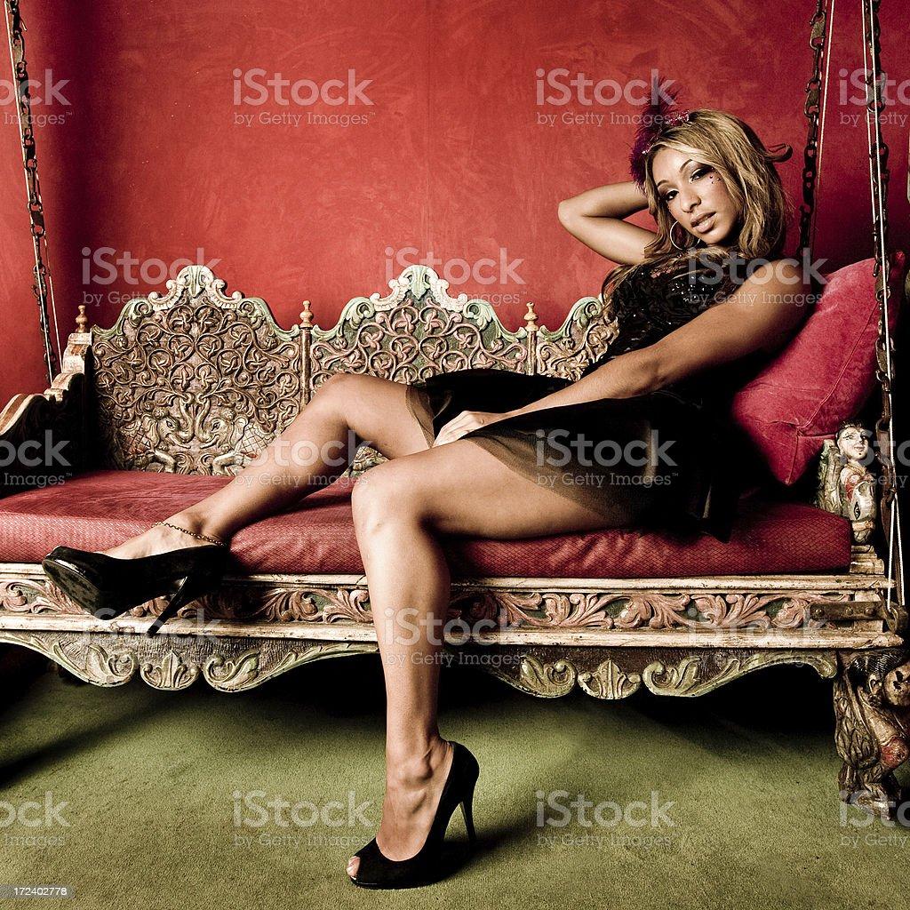 nightclub diva royalty-free stock photo