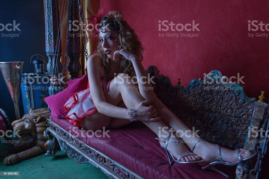 nightclub diva royalty-free stock photo