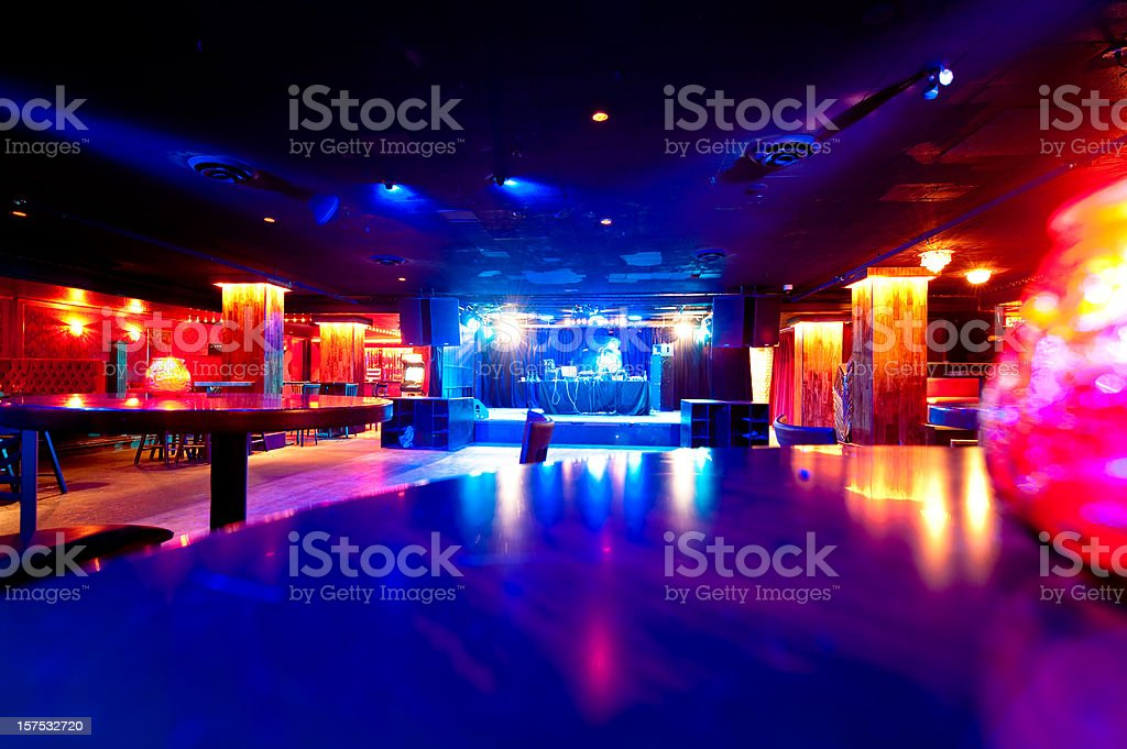 Nightclub stock photo