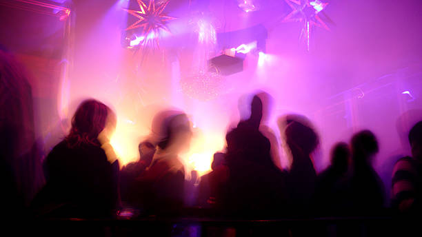 Nightclub Scene stock photo