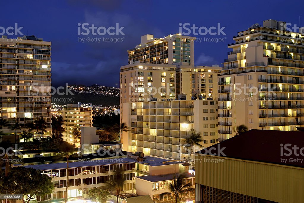 NightHotels royalty-free stock photo