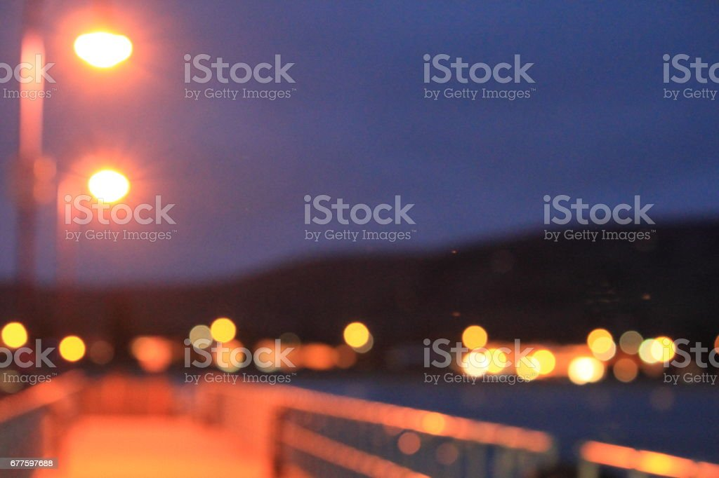 nightlight blurred background royalty-free stock photo