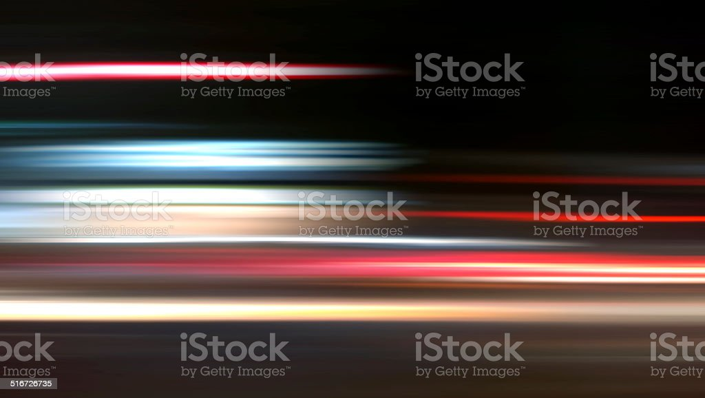 Nightride Speed Background XXXL stock photo
