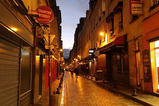 Nightscape Van Parijs Frankrijk Stockfoto en meer beelden van Europa - Geografische locatie