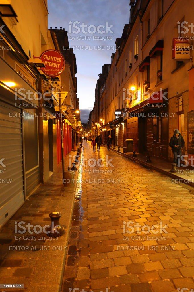 nightscape of Paris, France - Стоковые фото Без людей роялти-фри