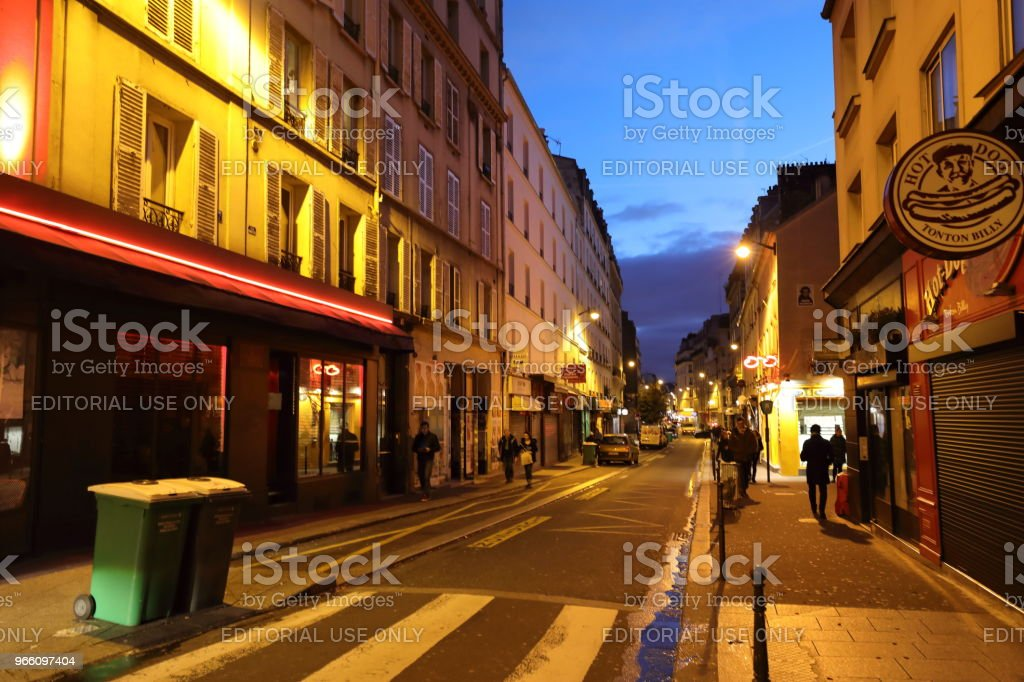 nightscape of Paris, France - Royalty-free City Stock Photo