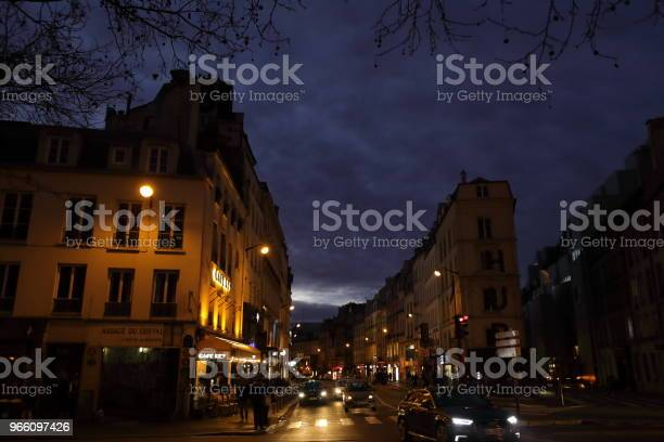 Nightscape Of Paris France Stock Photo - Download Image Now