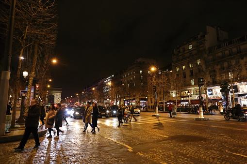 Nightscape Von Paris Frankreich Stockfoto und mehr Bilder von Europa - Kontinent