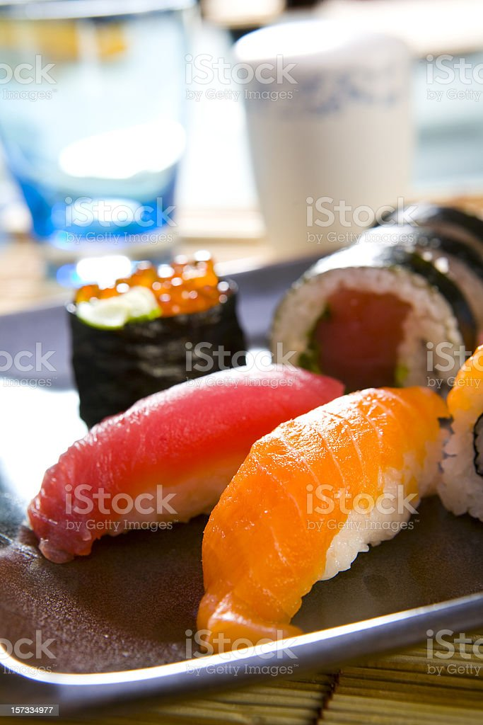 nigiri sushi royalty-free stock photo
