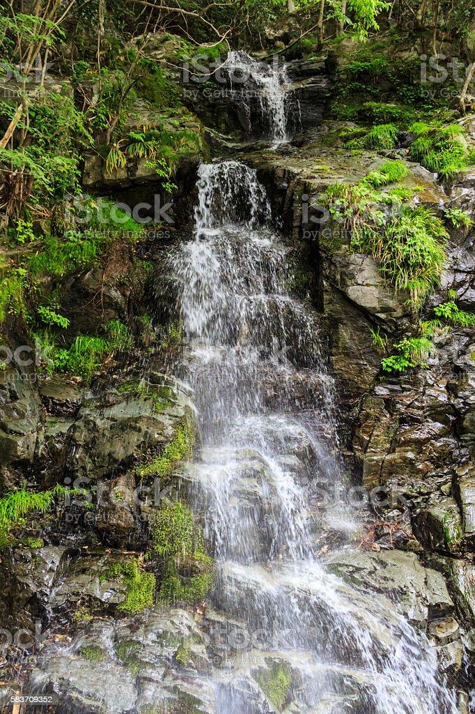 Niji taki ; Niji falls stock photo