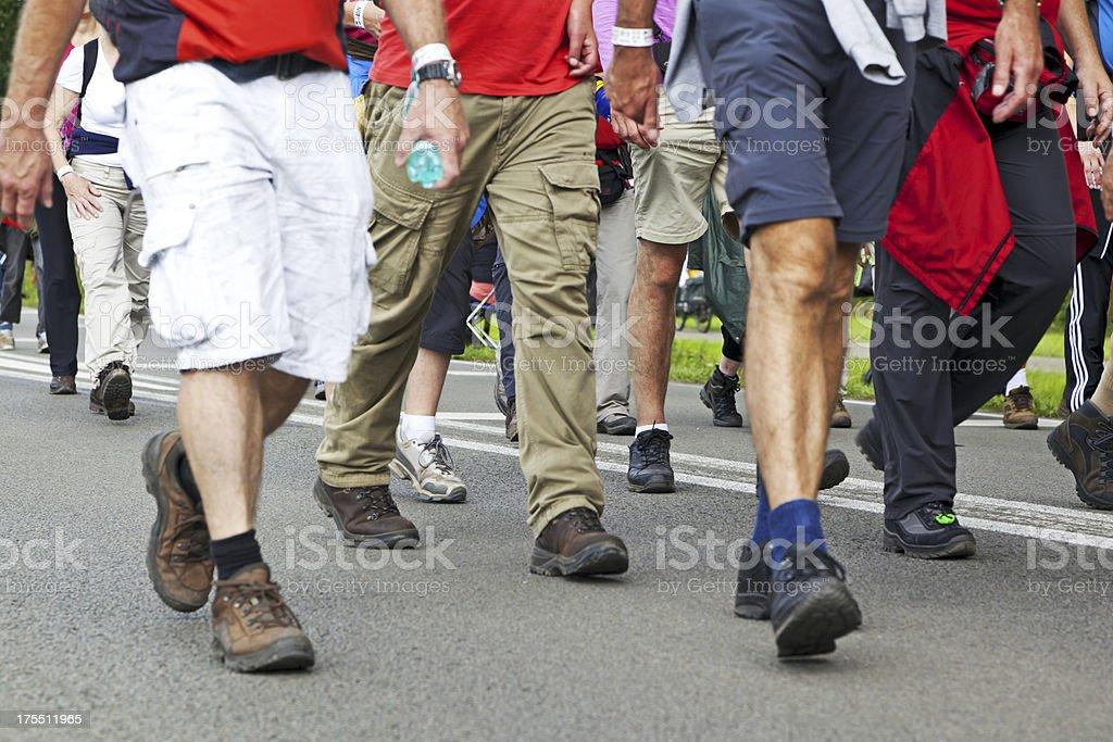 Nijmegen Four Days Marches # 7 XXL stock photo