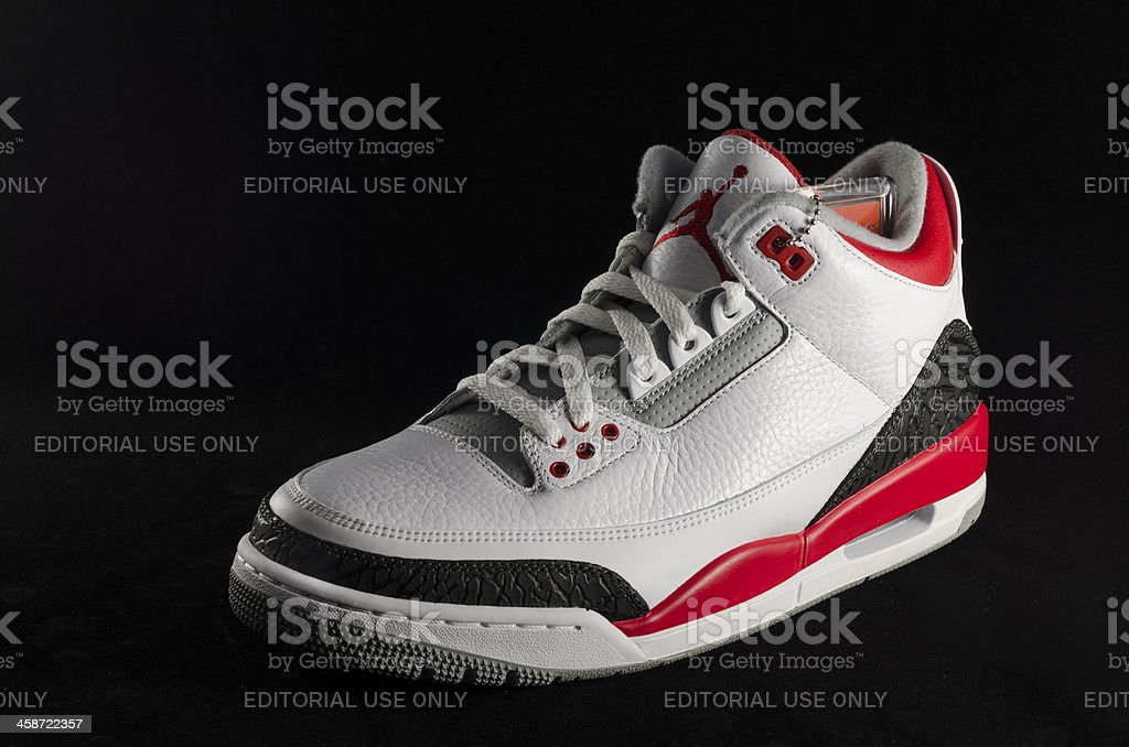 best website 420c3 58b0f Air Jordan, Basketball - Sport, Basketball Uniform, Clothing, Horizontal. Nike  Air Jordan III ...