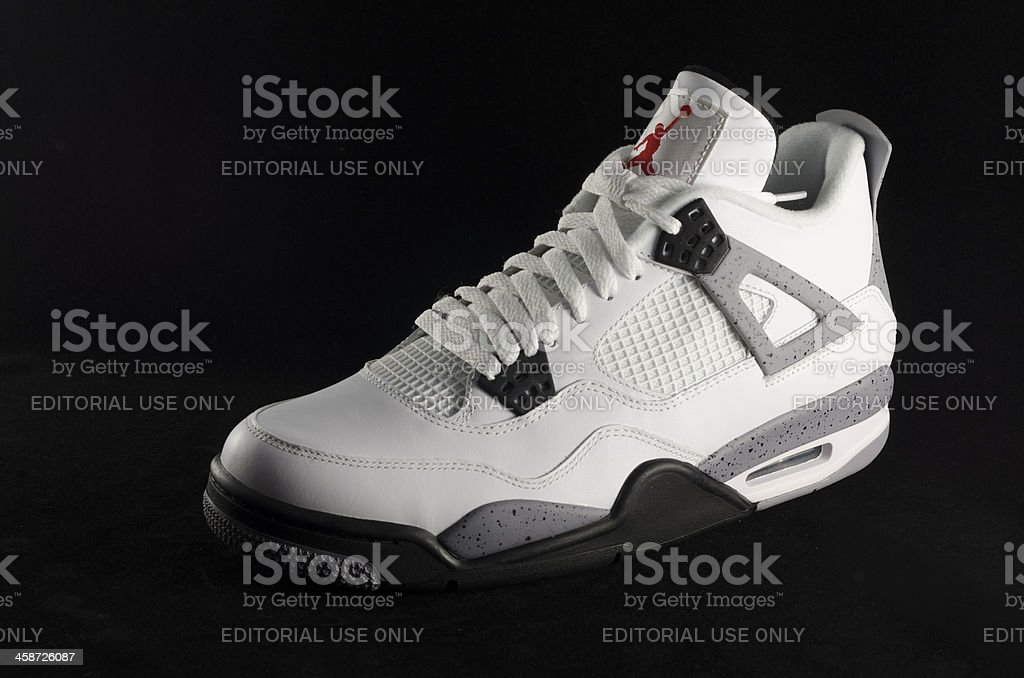 Nike Air Jordan IV stock photo