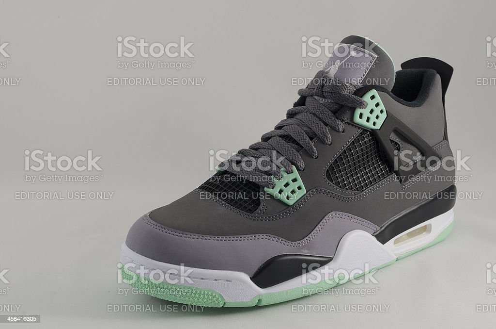 Nike Air Jordan stock photo