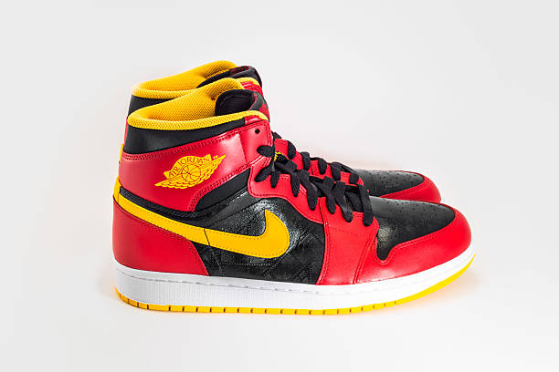 Nike Air Jordan stock photo