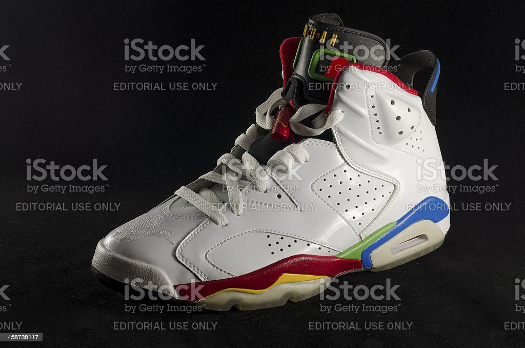Nike Air Jordan VI stock photo