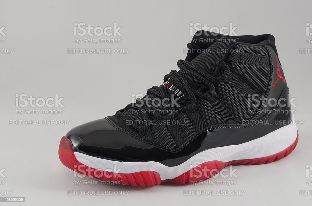 Nike Air Jordan XI stock photo