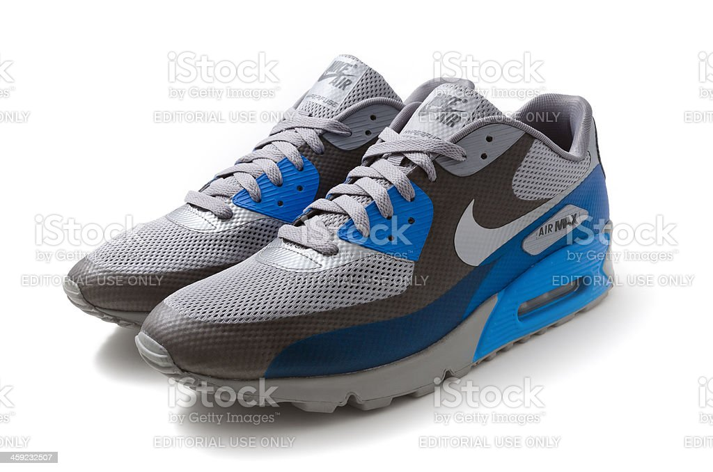 Alfabeto Groseramente lino  Nike Air Max 90 Trainers Stock Photo - Download Image Now - iStock
