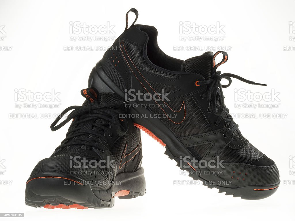 Nike Hiking Shoes stock photo