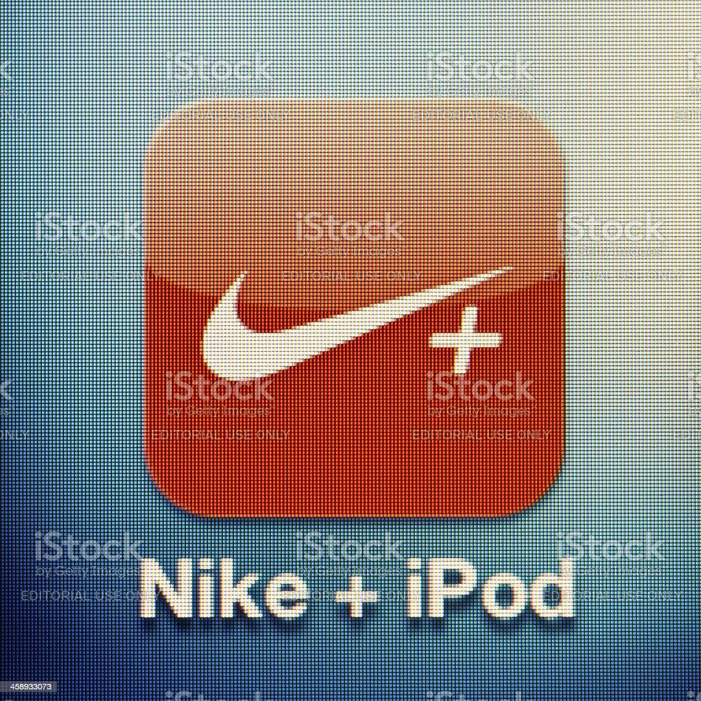 Nike+ iPod royalty-free stock photo