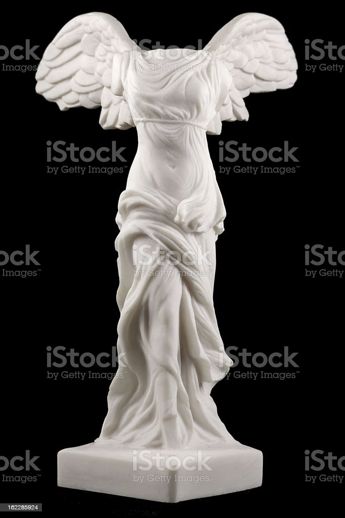 Nike ( Victory ) of Samothrace stock photo