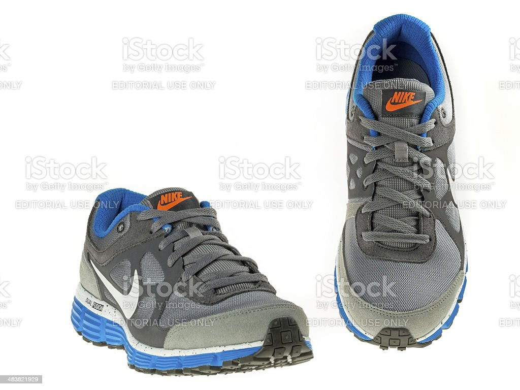Nike Shoes for Men stock photo