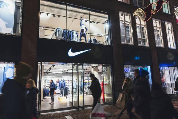Nike sports fashion, Amsterdam,Netherlands stock photo
